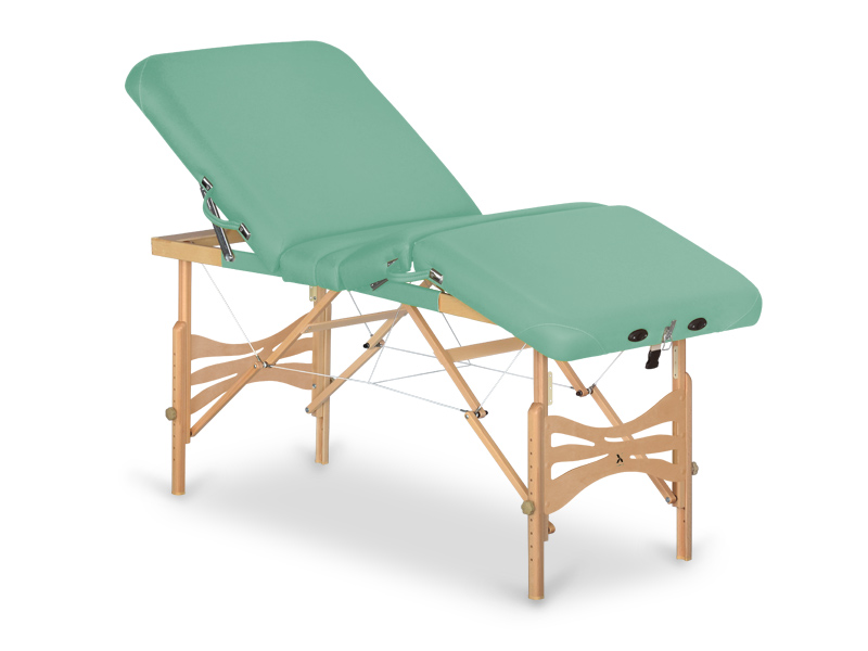 Table de massage en bois portable - pliante XENA
