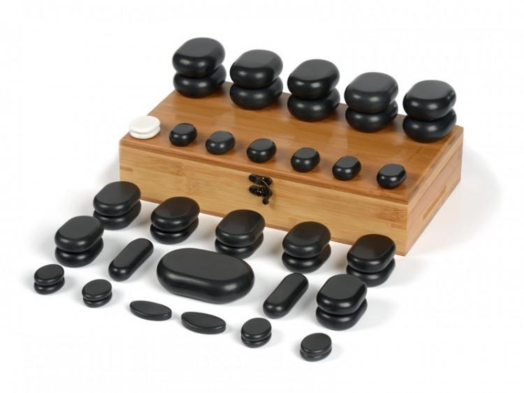 45 Pierres chaudes pour massage