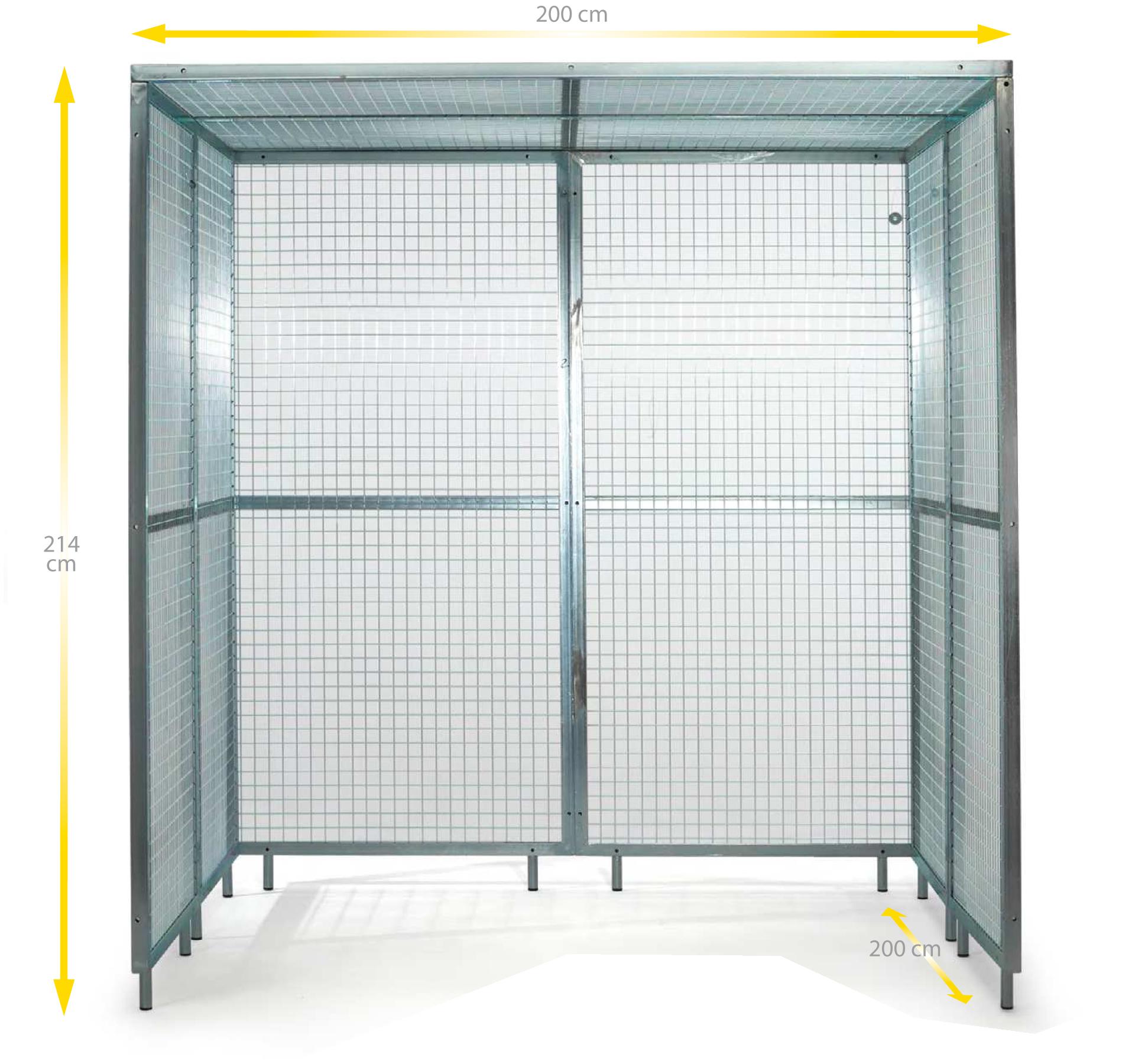 Cage de Pouliethérapie 8 panneaux - Ferrox