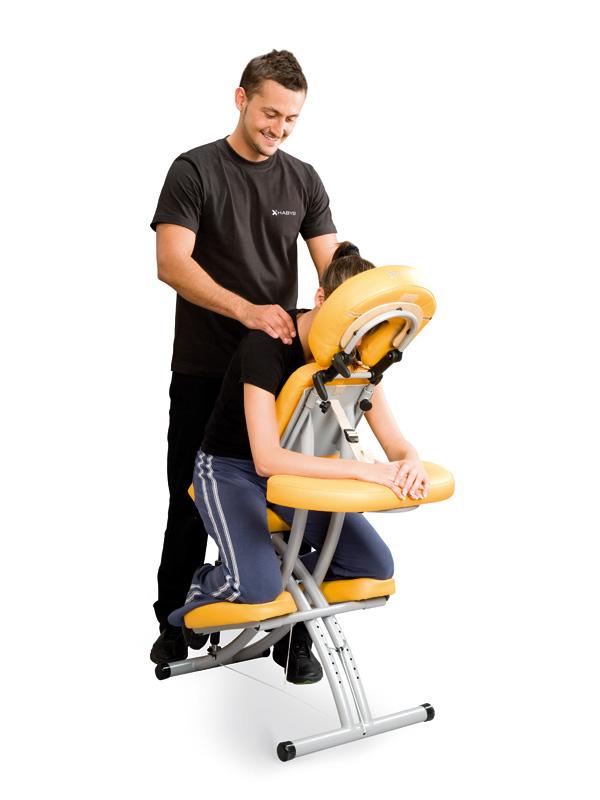 Chaise de massage portable ALU - PRESTIGE