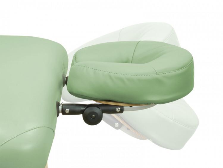 Têtière amovible pour chaise et table de massage 1D