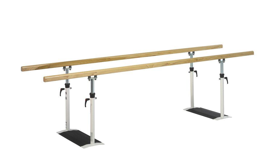Barres parallèles BOIS pliables Ferrox 3 m