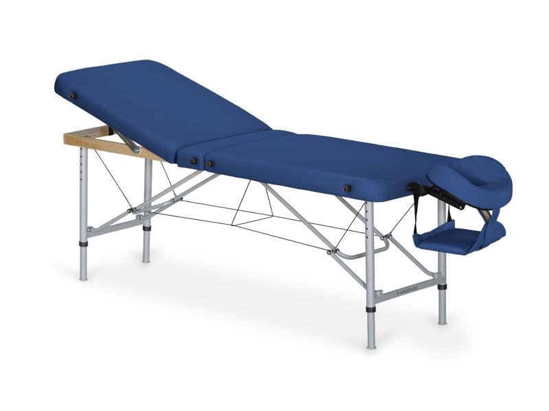 AERO PLUS table portable en aluminium avec dossier