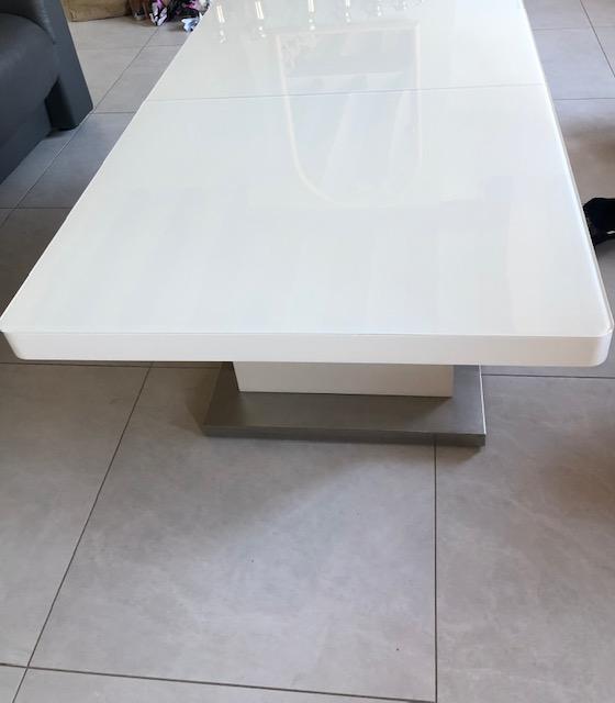 table basse tablelya vérin à gaz