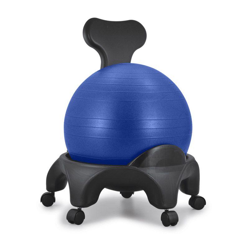 chaise ergonomique avec ballon bleu tonic chair originale sissel tablelya