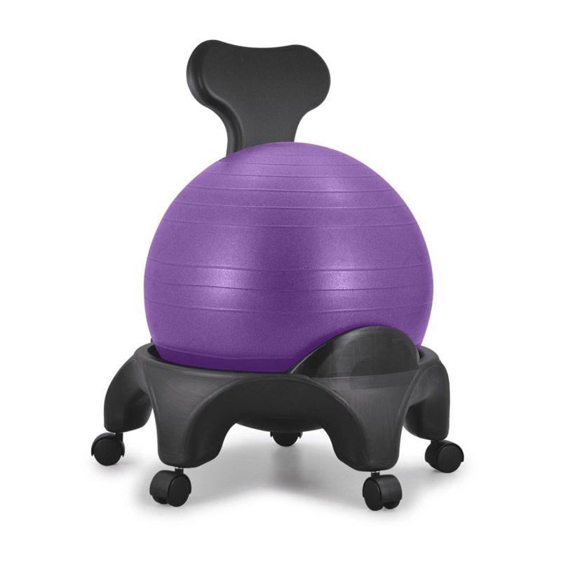 Chaise ergonomique avec ballon Tonic Chair® Violet