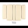 T03 table C5543 ecopostural table kiné électrique