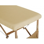 housse table beige