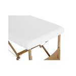 housse table blanc