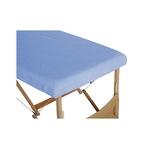 housse table bleu ciel