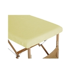 housse table vanille