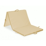 warm-beige-three-part-folding-mattress-195x85x5