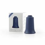 ventouse silicone original bellabambi bleu marine avec boite