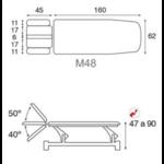 shéma C5543 ecopostural tablelya table kiné électrique