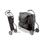 chariot de transport table portable pliante habys tablelya