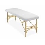 housse éponge blanche table de massage portable habys mobercas ecopostural tablelya