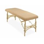 housse éponge cappucinno table de massage portable habys tablelya ecopostural
