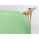 finition des bords de la table de massage portable en bois habys modèle gallo