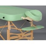 tablette appuis bras vue avec châssis pour table portable en bois gallo plus