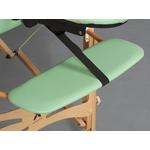 tablette longue appuis bras pour table de massage en bois gallo et panda