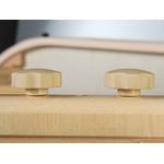 Table de massage et dexamen Elza Aveno Life Habys portable pliante en bois Coins arrondis couleur crème