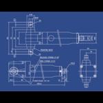 Schéma vérin hydraulique MH tablelya