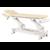 C5543 ecopostural tablelya table électrique deux plans têtière fente nasale kiné