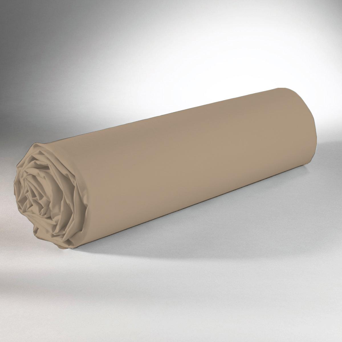 Drap housse 100% coton 180x200+25 lin