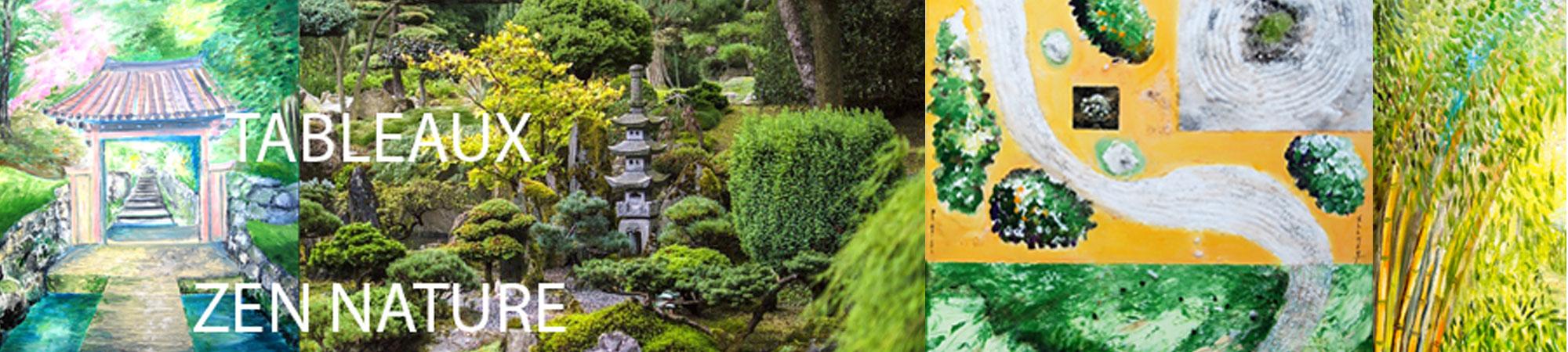 tableau-zen-nature-art-style-deco