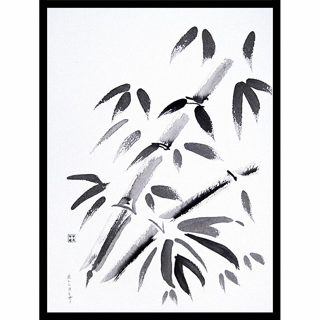 Tableau zen Les Bambous