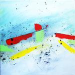 symphony part 2 peinture abstraite Ellhea