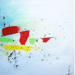 symphony part 3 peinture abstraite Ellhea