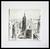 new york-dessin-encre-de-chine-noir-et-blanc-oeuvre-unique-peintre-ellhea-galerie-art-style-deco