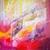 tableau abstrait rouge trance music ellhea art style deco c6