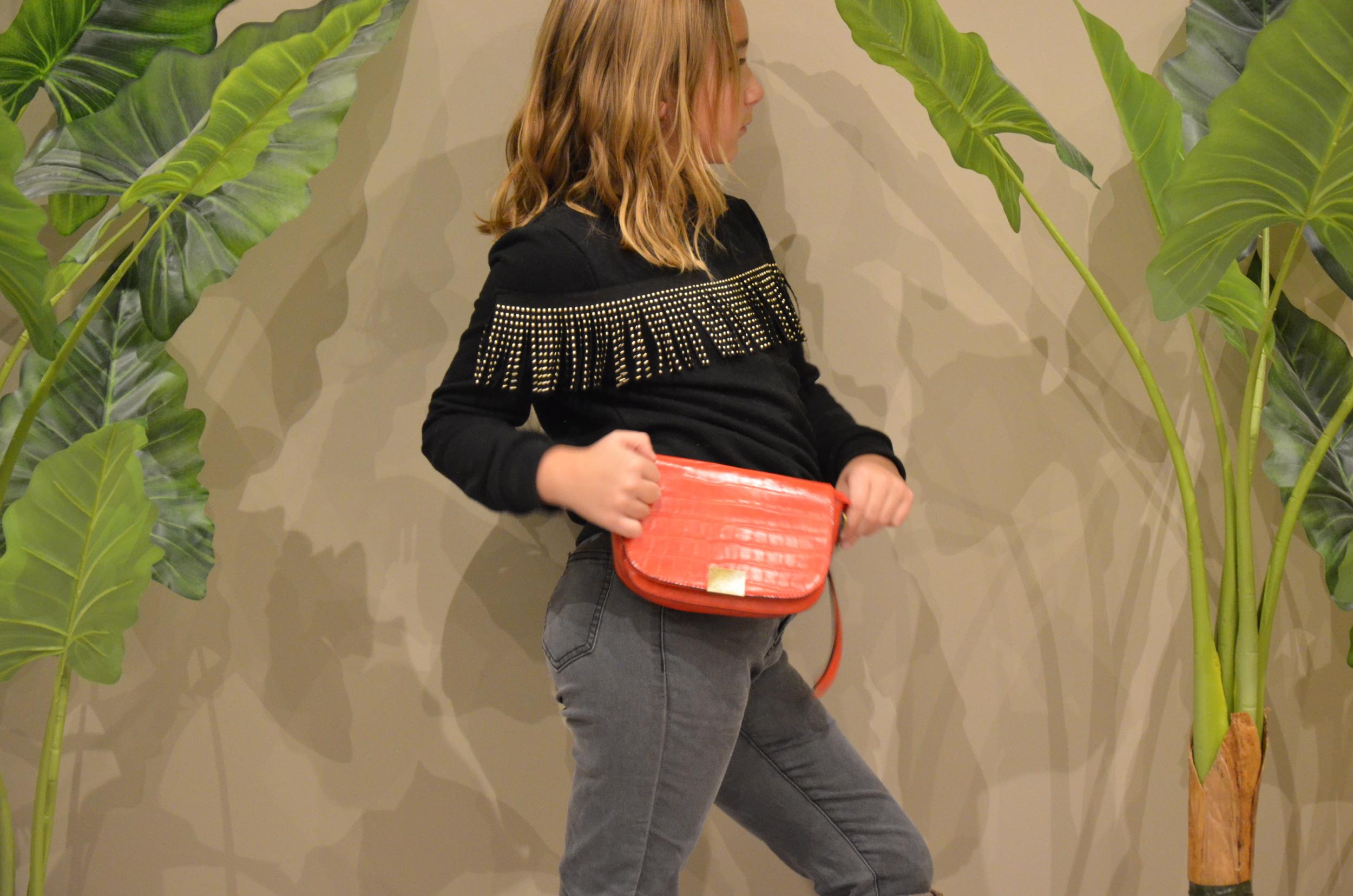 Le sac banane  Victoria rouge