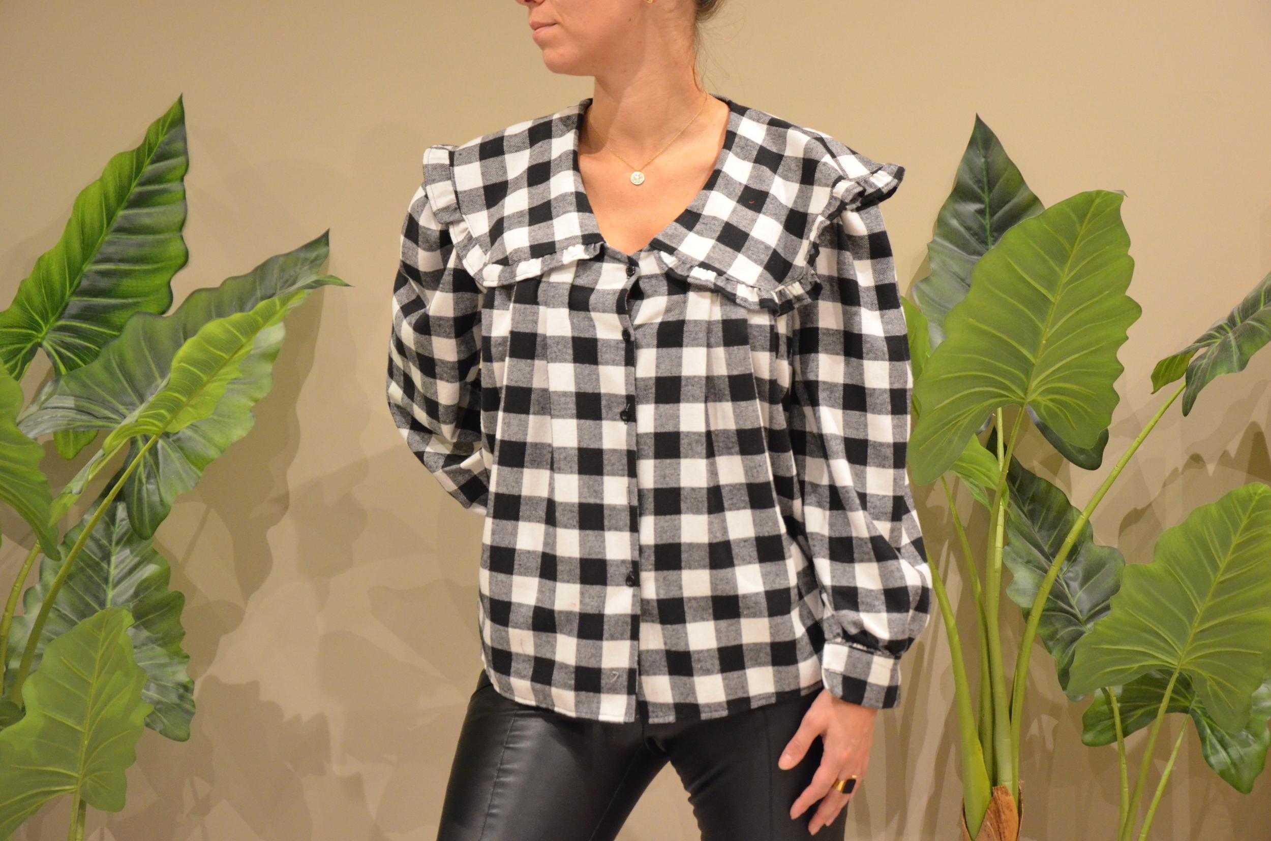 La blouse  vichy