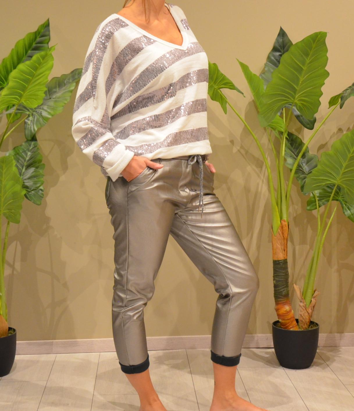 Le pantalon  silver