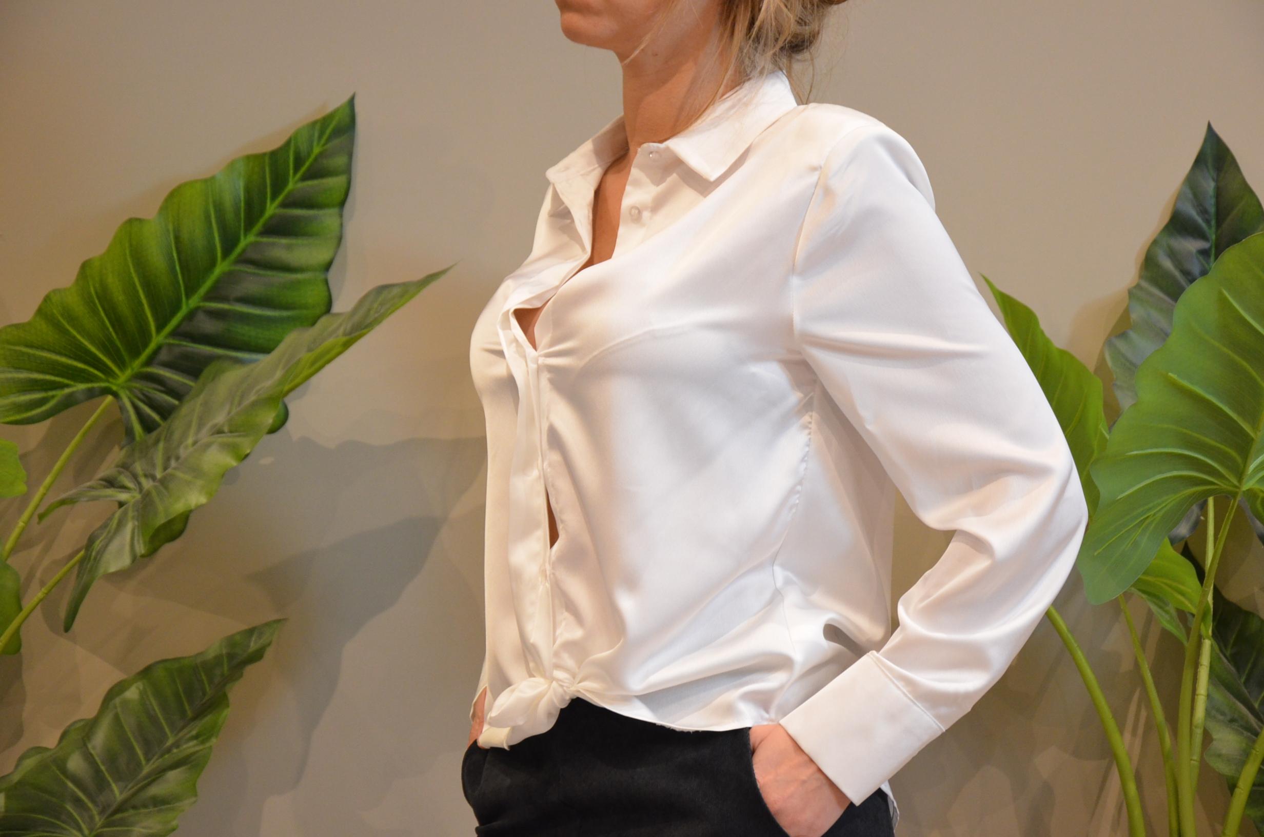 La chemise Olivia blanche