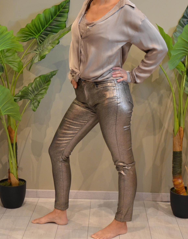 Le pantalon doré Andréa