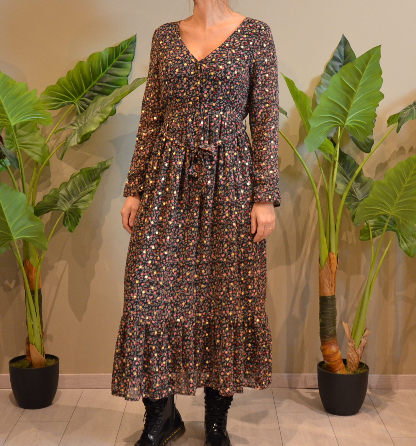 La robe longue  Palerme