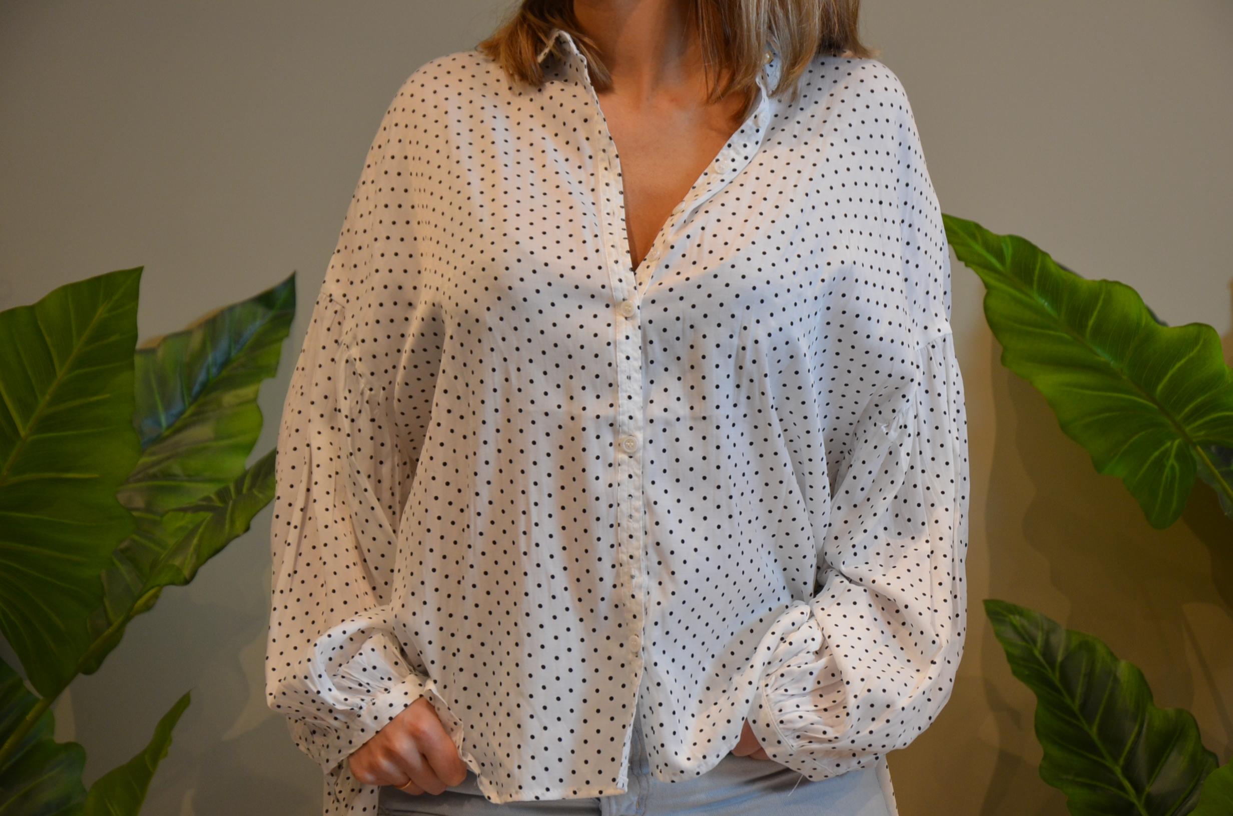 La chemise à pois  Panna