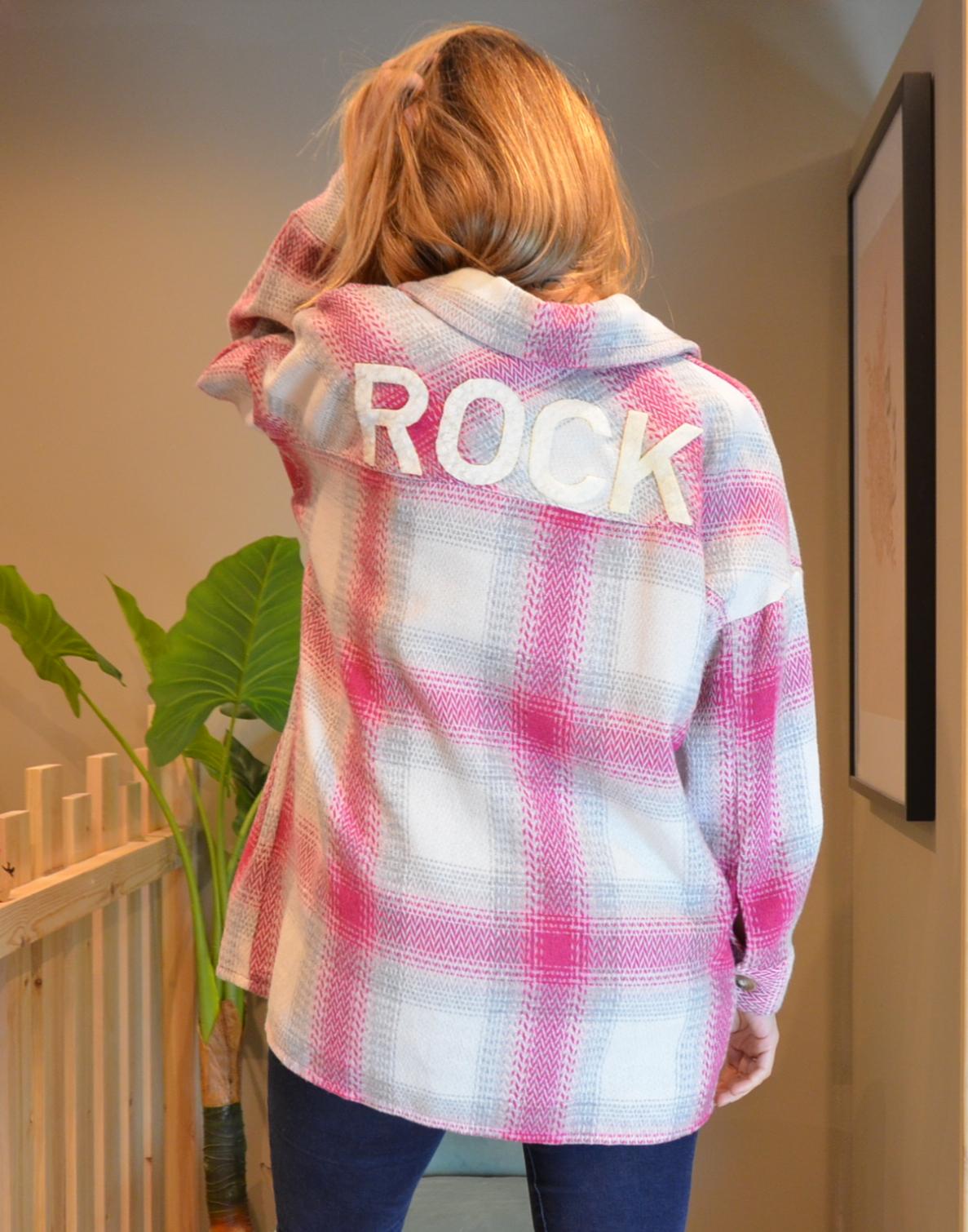 La veste «Archi» rose