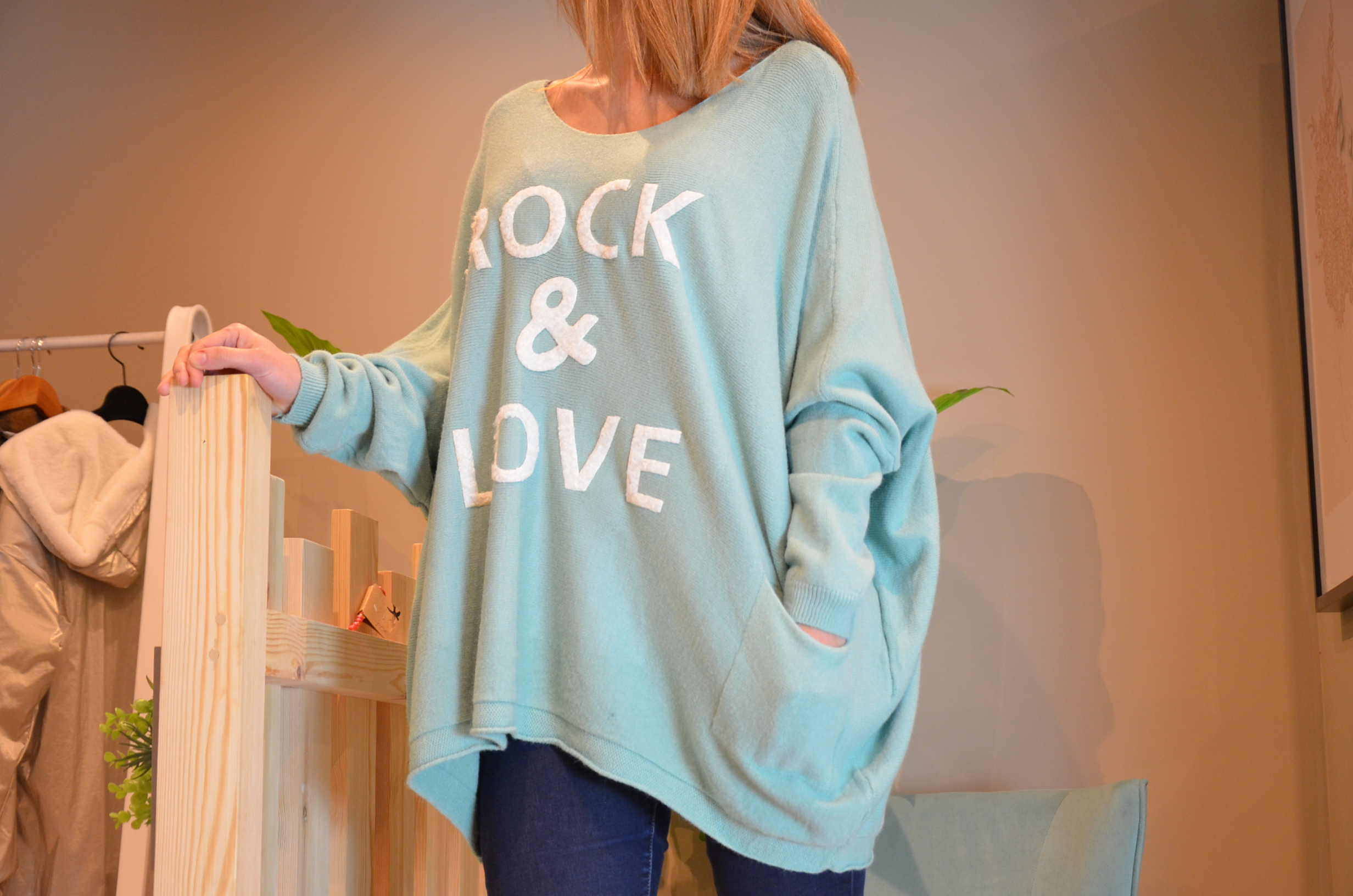 Le pull Paolo Rock and Love