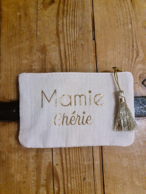 La pochette  Mamie chérie  beige