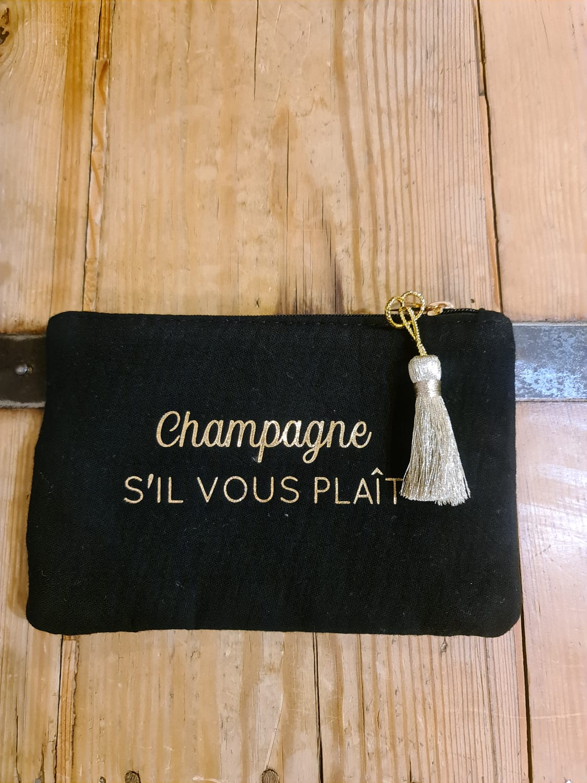 la pochette  Champagne s\'il vous plaît