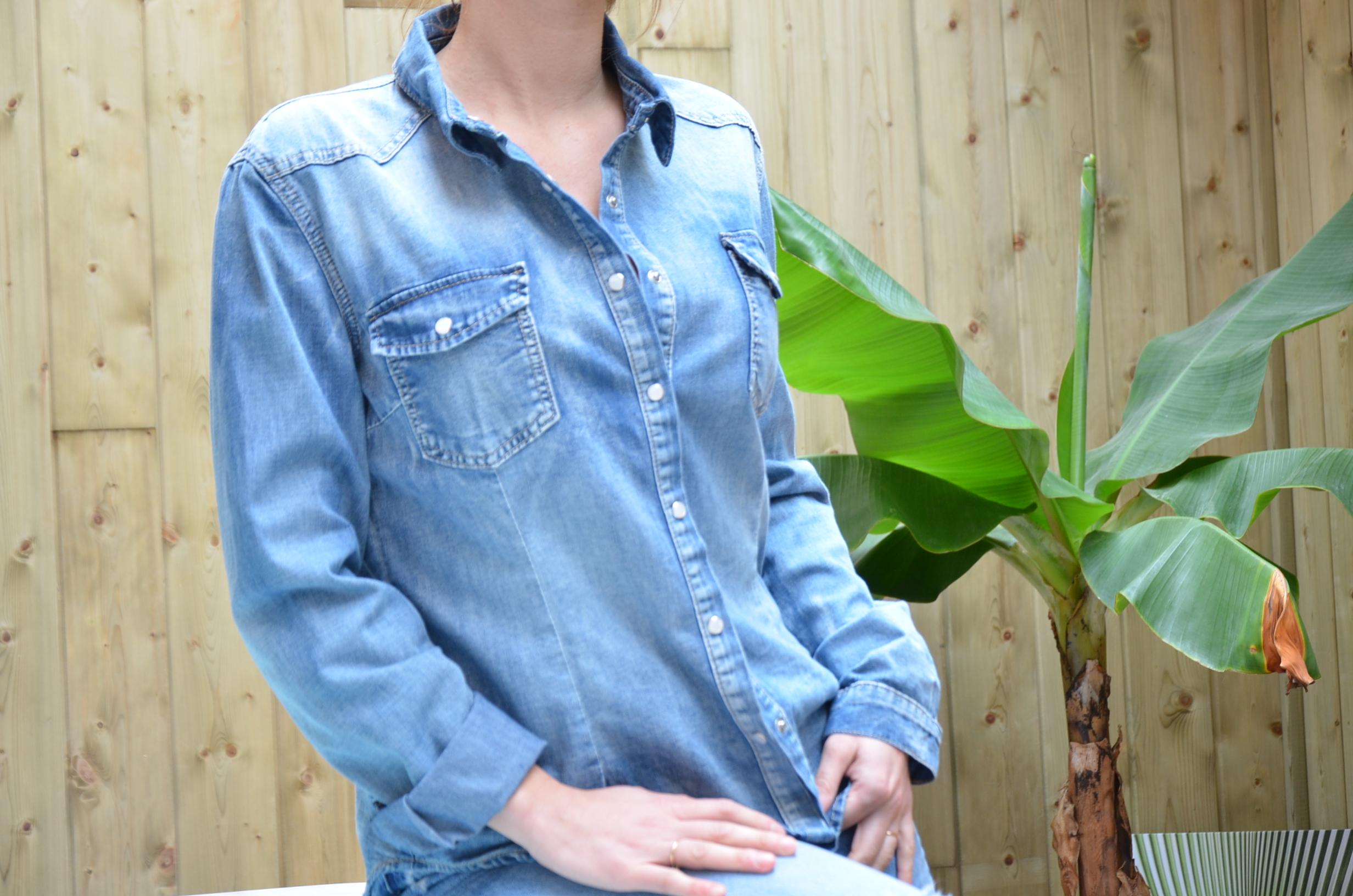 La chemise en jean's «Betty»