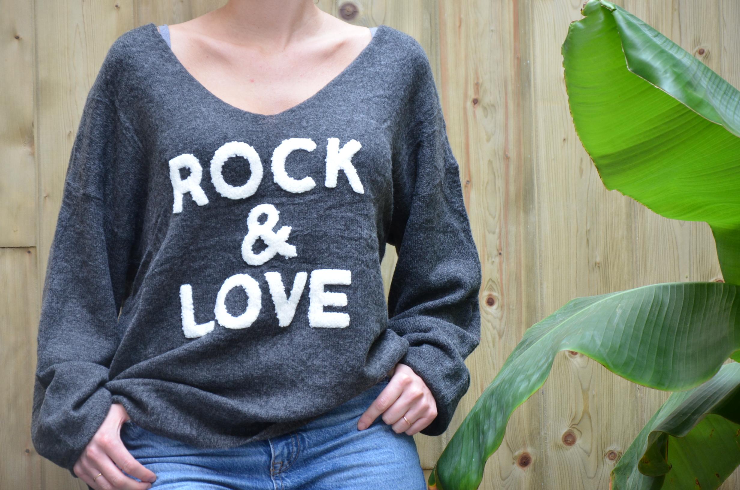 Le pull «Dark» Rock and Love