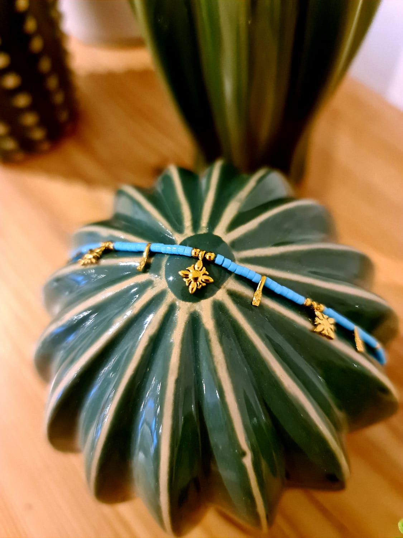 Le bracelet « cyan»