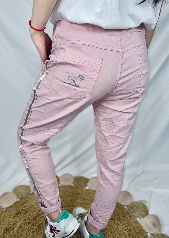 Le pantalon  Isla rose