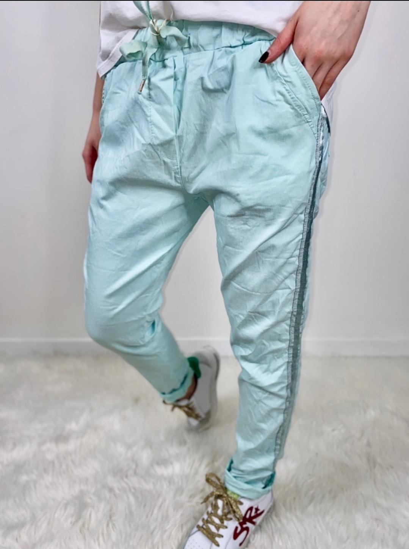 Le pantalon  Isla  vert d\'eau